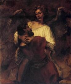 Jakob met engel